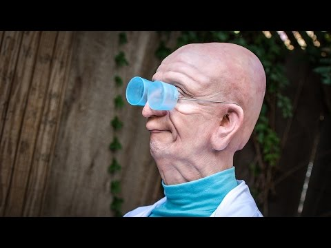 Real-life Professor Farnsworth From Futurama! video