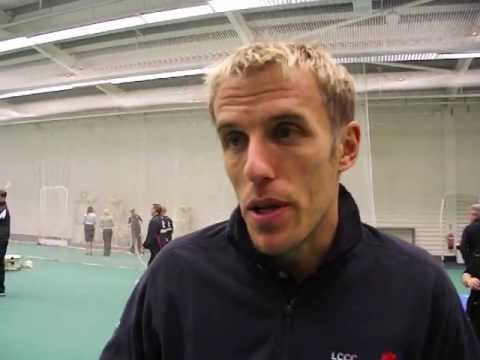 Phil Neville Cricket