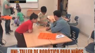 UNI: Taller de robótica para niños