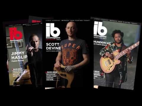 New Magazine From SBL - Get Your Free Issue Today! /// Scott's Bass Lessons