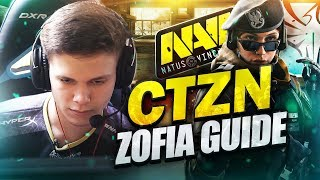 NAVI CTZN - How to Play Zofia (Rainbow Six Siege Guide)