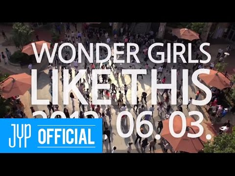 [Teaser] Wonder Girls _ Like this _ Making of
