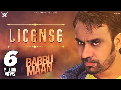 Babbu Maan - License
