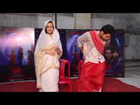 Shraddha Kapoor And  Rajkumar Rao Spotted Promoting   Their Film Stree On Set Of Dance Deewane