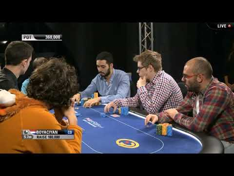 EPT9 - Prague. Main Event, FinalTable. E5