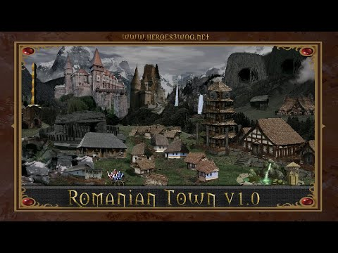 Romanian Town - Heroes of Might and Magic 3 Mod