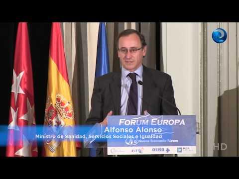 Fórum Europa con el ministro de Sanidad, Alfonso Alonso y Máximo González Jurado