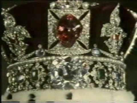 The Imperial State Crown by Queen Elizabeth II
