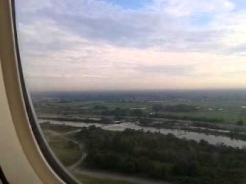 Air India 101 landing at JFK new York first class