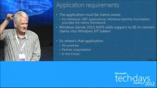 Managing Identity in the Cloud with ADFS and Windows Azure - TechDays 2012