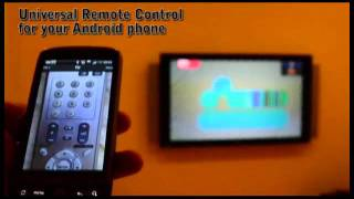 BlueIR, universal remote control (Android)