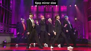 (mirrored & 50% slowed) Boy With Luv 'BTS' Dance Fancam Choreography Video