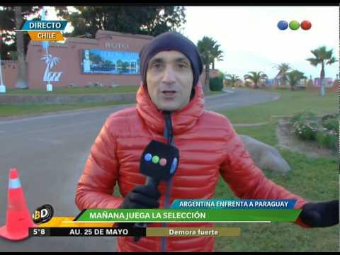 Se viene Argentina – Paraguay - Telefe Noticias
