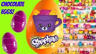 Shopkins Season 4 Chocolate Surprise Eggs! Can We Complete Season 4? Fizzy Lays Eggs!