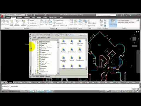 AutoCAD ~ How to Use Design Center