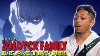 Zoldyck Family! First Time Watching Hunter x Hunter Episode 21 22 23 24 25 Reaction