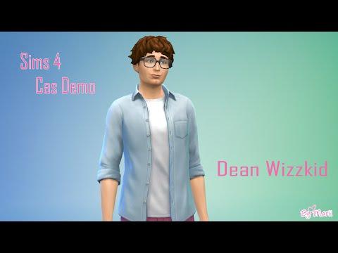 Sims 4 Cas Demo - Dean Wizzkid