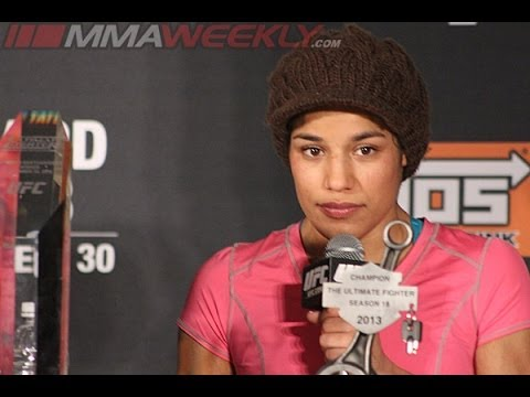 Julianna Pena TUF 18 Finale PostFight Press Conference