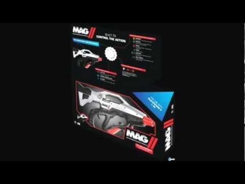 MAG II Gun Controller. un mando-metralleta para PS3 y PC.