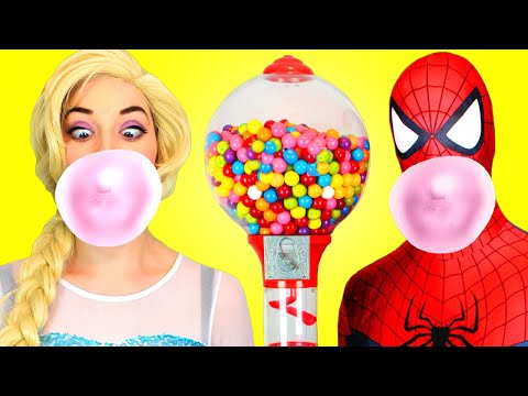 Free Watch  frozen elsa vs spiderman play doh challenge superhero in real life movie Movie