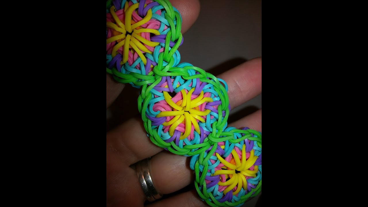 Old One Loom Kaleidoscope Bracelet Tutorial By