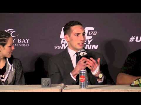 An Avocado Sends Rory MacDonald to the Hospital (UFC 170 Post Fight Press)