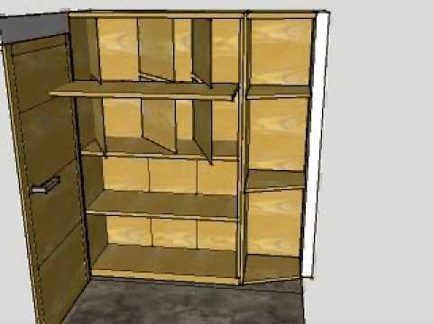 Dise o de armario interiores youtube - Diseno interior armarios ...