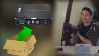 Ezcap 280 Video Capture Card Unboxing & Test Footage