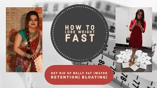 Lose 2 kg in 5 days  | water retention | Bloating | Exercise |Belly fat |