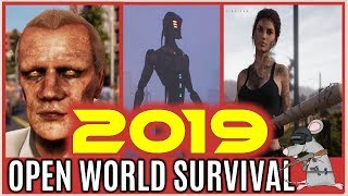 OPEN WORLD SURVIVAL 2019 Early Access Zombies Robots Mutants