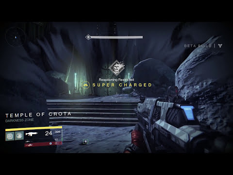 Destiny Beta - NEW MOON MISSION (The Dark Beyond) Gameplay Walkthrough
