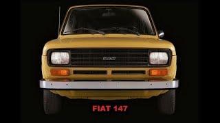 FIAT 147 - Comerciais Antigos do Pequeno Grande carro da Fiat