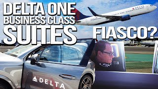 Brutally Honest Flight Review: Delta One Suite x Airbus A350 to Tokyo (Pt. 1) | SAM THE COOKING GUY