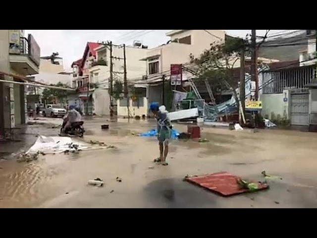Dozens killed in Vietnam by Typhoon Damrey