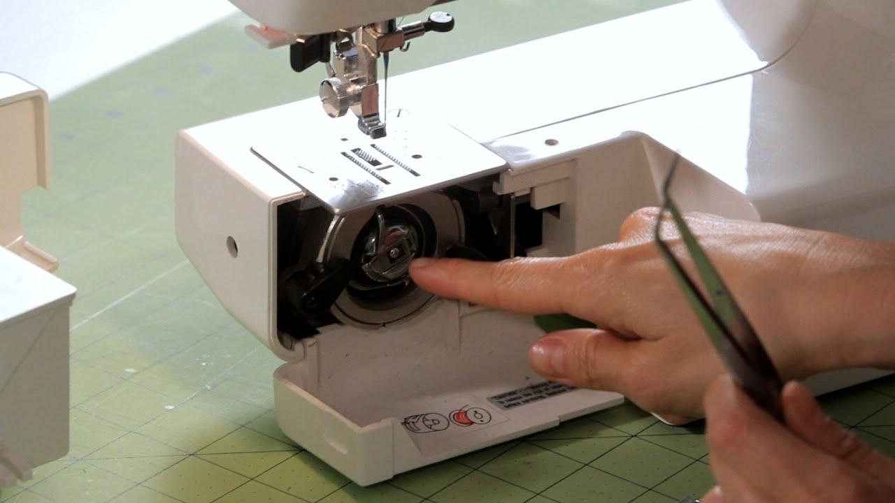 How To Fix A Thread Jam Sewing Machine Youtube