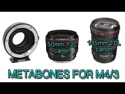 Metabones + canon 50mm f/1.2L & canon 135mm f/2.0L (художественный тандем с вашим m4/3)