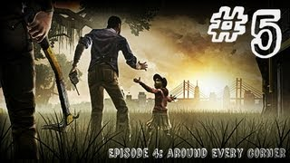 The Walking Dead - Episode 4 - Gameplay Walkthrough - Part 5 - SHAWSHANK (Xbox 360/PS3/PC)