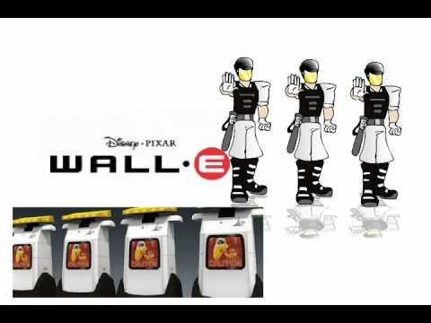 Characters Wall-e Human Wall-e Characters