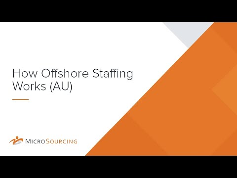 How Offshore Staffing Works (AU)
