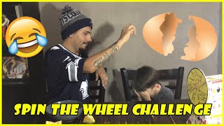 SPIN THE WHEEL CHALLENGE: FATHER AND SON