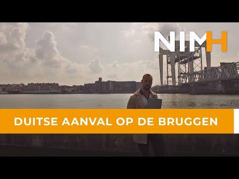 Duitse aanval op de bruggen bij Dordrecht / Zwijndrecht, mei 1940