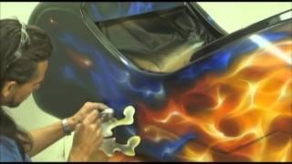 FLAME ON_2 - Airbrush - Custom paint - True Fire or Realistic Flames.