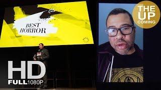 Jordan Peele, Best Horror for Get Out: Video speech at Empire Awards