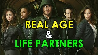 Arrow Actors: Real Age and Life Partners