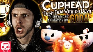 Vapor Reacts #566 | [SFM] JT MUSIC CUPHEAD RAP - Animation by Coda REACTION!!