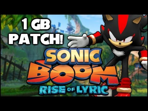 Sonic Boom: Rise of Lyric (Wii U) Receiving a 1 GB Patch!