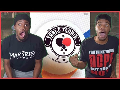 THE DOPEST GAME YOU WOULDN'T EXPECT TO BE DOPE!! - Table Tennis Gameplay | #ThrowbackThursday