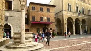 TOSCANA - PIENZA Città ideale -  ideal city Tuscany  [HD 1080p]