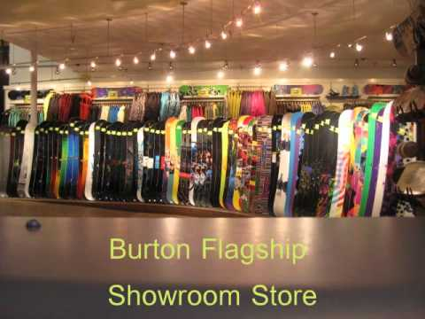Burton Snowboard Museum, Flagship Store, and the Dogs of Burton, VT