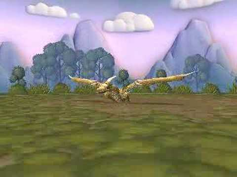 Pteranodon Flying...sorta Spore Creature Creator Video Video
